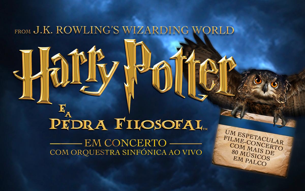 Harry Potter É A Pedra Filosofal with lemon   harry potter e a pedra filosofal em concerto